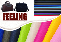 pvc coated oxford fabric/600D waterproof oxford bag cloth/luggage purple travelling bag fabric