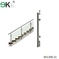 316 decorative design stainless steel stair railing post