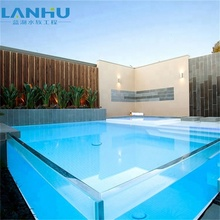 Customized Aboveground Acrylic Panels for Swimming Pool Outdoor