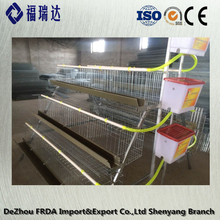 Outdoor poultry equipment fir wood chicken layer cage for sale FRDA