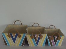 fancy decorative cardboard stackable tote drawer storage box