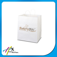 Small miniature gift kraft bag with your design