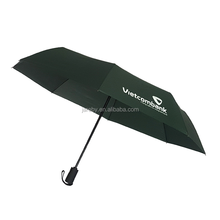 custom auto folding promotional umbrella with logo printing