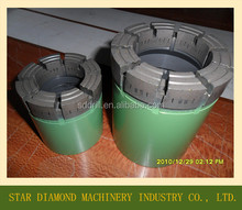 Impregnated diamond core bit, DCDMA size NQ3 CORE BIT, WLN3 wireline core drill bit
