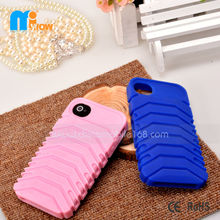 Anti slippery Tire silicone case mobile phone case protector cover for iPhone 4