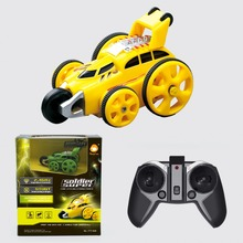 TOYZ Remote control tumbling stunt vehicle 2017 New toys rc jumping car