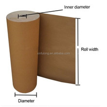 hot-sale silicone coated recycled brown kraft paper roll