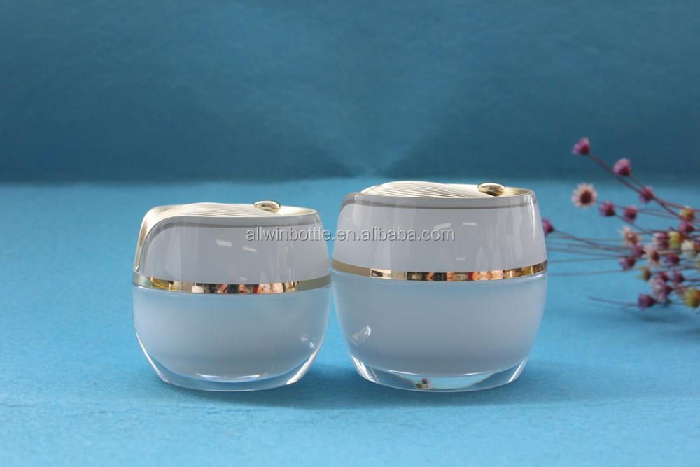 DewDrop Lotus Leaf Shaped Acrylic jars and Acrylic Lotion Bottle