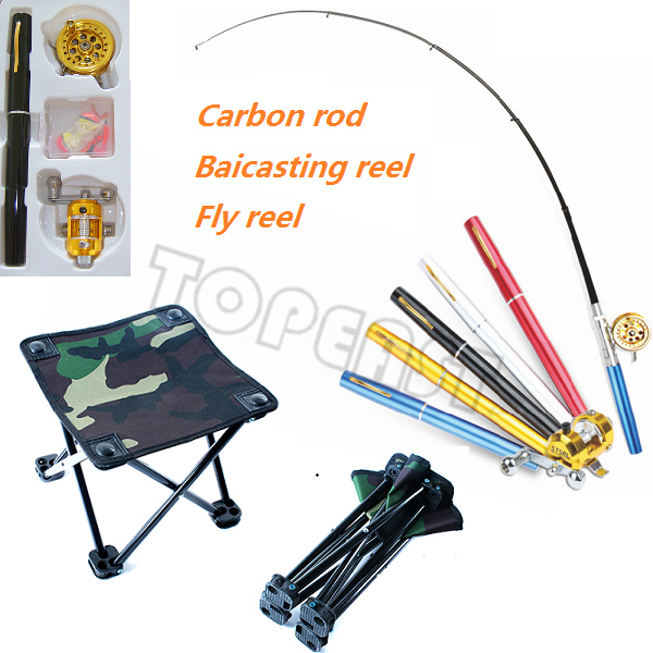Wholesale Kit of Pen Fishing Rod &Folding Camping Chair