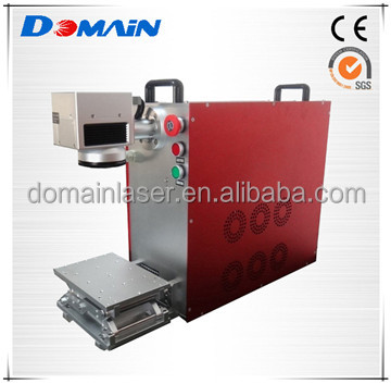 Small 10W Portable Watches and Clocks Fiber Laser Marking Machine