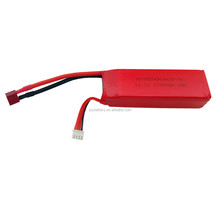 11.1V 2700mAh 25C lithium polymer battery toy helicopter 853496 3S
