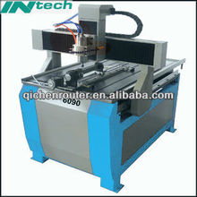 4 Axis Best Small CNC Router Machine QC6090 with Stepper Motor and Driver