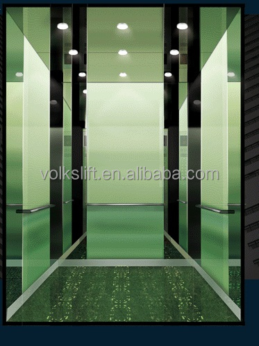 Office building usage commercial lift