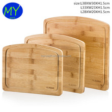 New promotion Custom Bamboo Cutting Boards With ISO9001 Certificate