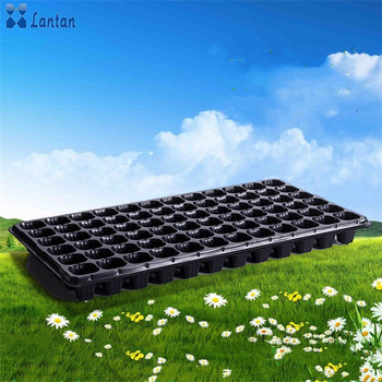 72 holes plastic seedling trays for plants