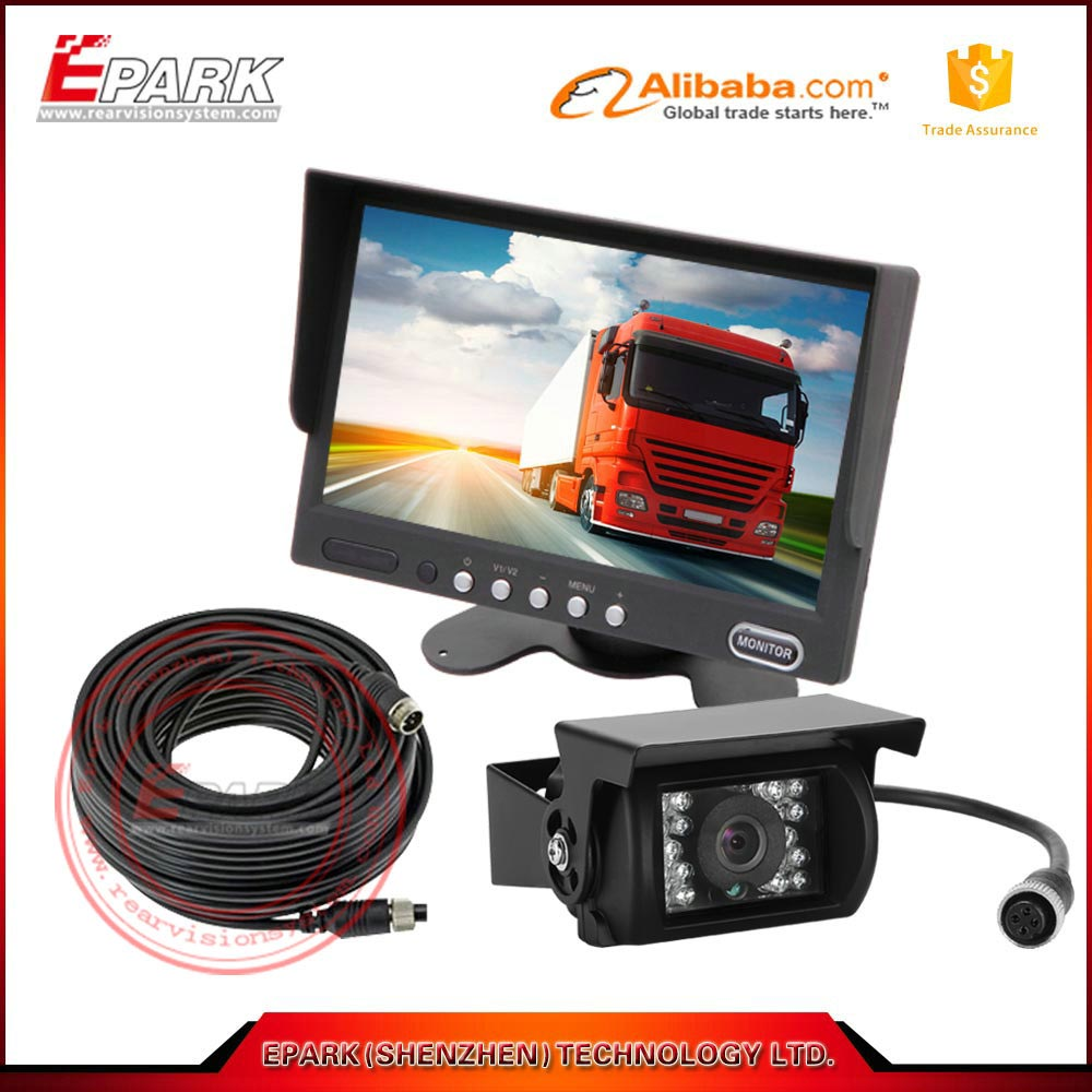 Super hot 7 inch LCD monitor stand alone rearview car monitor with 7inch tft lcd
