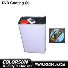 Top quality UV glossy oil use for desktop cd dvd coating machine