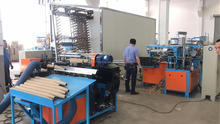 Factory direct provide full automatic paper cone cutting making tube machine