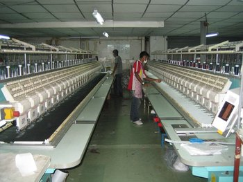 USED EMBROIDERY MACHINE
