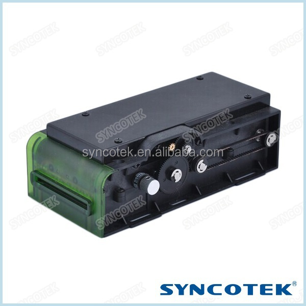 RS-232/USB Interface Manual Insertion Card Reader For ATM Machine Kiosk