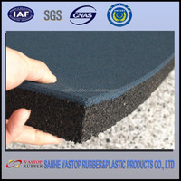 "Environmently Friendly Outdoor 1"" Thick Rubber Flooring"