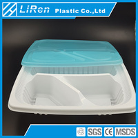 Factory Price High Quality Standard Cheap Plastic Meal Tray For Food Storage Container