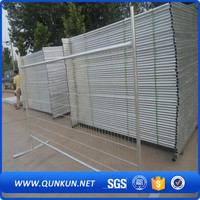 Galvanized Removable Temporary Building Fence For Canada