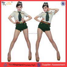 PGWC-1941 China Supplier New Stylish Nude Policewomen Sexy Police Costume