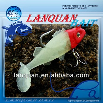 Free sample plastic soft fishing lure