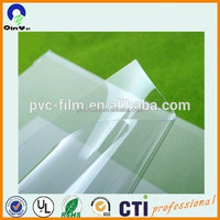 Plastic sheet pvc rigid clear film 0.5mm thick