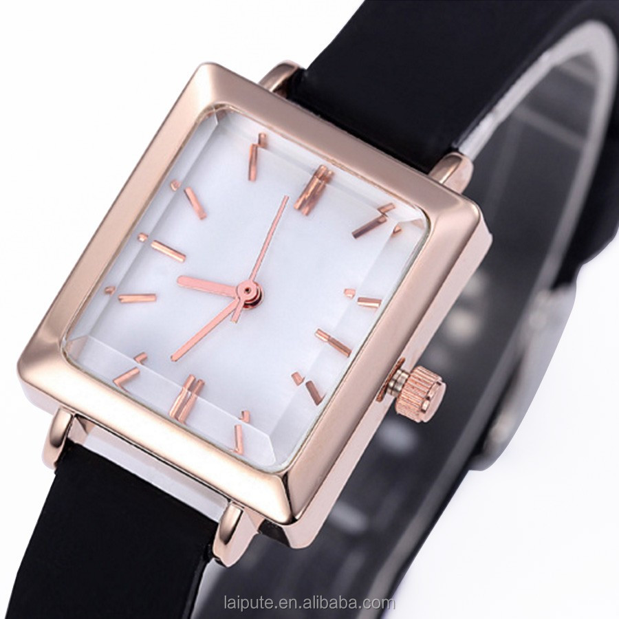 2017 Lady Wrist Watch Quartz Woman Fashion Dress Korea Bracelet Crystal Watch