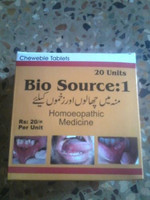 Bio Source HOMEOPATHIC MEDICINE