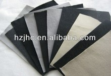Nonwoven needle punched black felt paper made in China