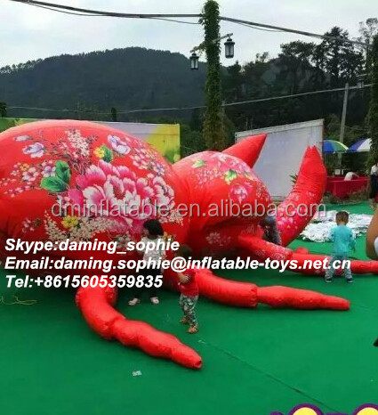 Outdoors Advertising Inflatable Beatle Insect for Show
