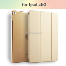 designer hot sale case for ipad air 2 tpu for ipad air2 case leather packaging color transparent cover