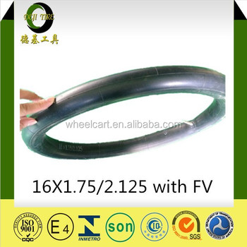 14X1.75/2.125 AV super Quality Best Sale cheaper price South American bicycle butyl tube