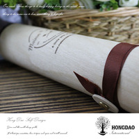 HONGDAO popular wooden wine box wholesale,fancy wine boxes