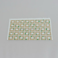 High quality updated strong adhesive resin label sticker
