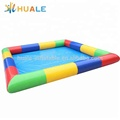 Colorful rectangle inflatable swimming pool for sale
