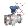 Ball Valves with Electric Actuactor, Worm Gear Operated 304 316 or WCB