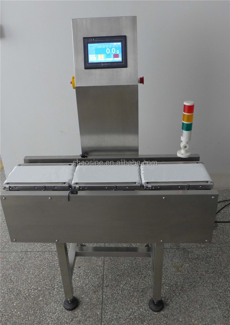 Precise weight measuring checking machine