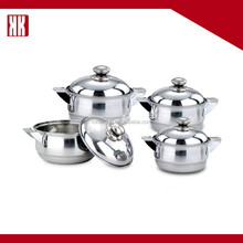 Multi-purpose Easy To Clean Stainless Steel Decorative Cookware Pot Set