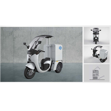 Wholesales three wheeler cargo electric trike from china