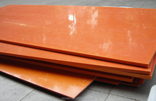 20mm thick Insulation Orange Bakelite Sheets for fixtures