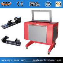 Samll business cheap CO2 CNC laser engraving machine for handcrafs MC6040