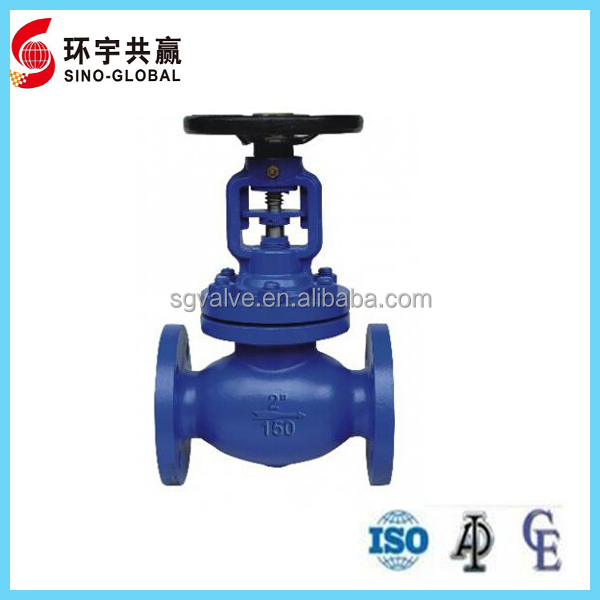 RF ENDS BELLOWS SEAL GLOBE VALVE