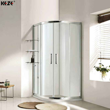 plegable dreamline arched glass magnetic seal strip water-proof walk in shower door