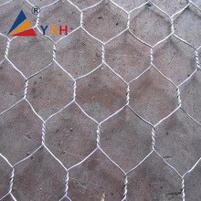 Gabion box 2x1x1 / welded gabion/hexagonal wire mesh for protection