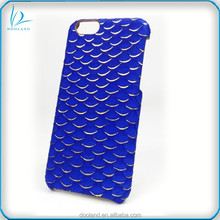 Luxury authentic exotic genuine fish leather real tilapia fish skin case for iphone 6 6S