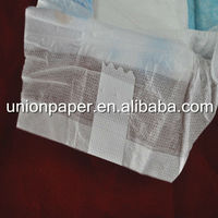 Breathable baby diaper with magic tapes
